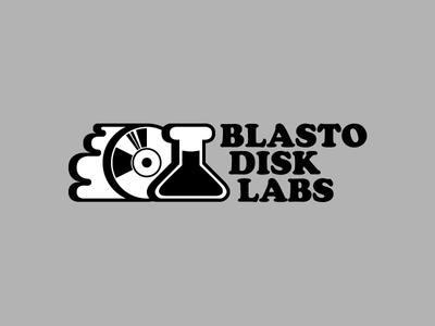 Blastodisk Labs logo / Explorations B icon gaming science retro branding logo