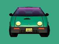 Mazda Autozam AZ-1 A / Front