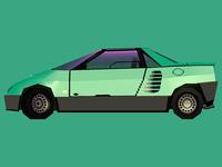 Mazda Autozam AZ-1 B / Side
