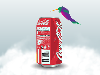 Stay Hydrated aesthetic vaporwave retro maya 3d rig character clouds low poly meme birb bird conk coke water drink hydration