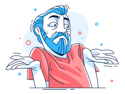 404 page hotspotshield character coreldraw vector illustration mamozinger