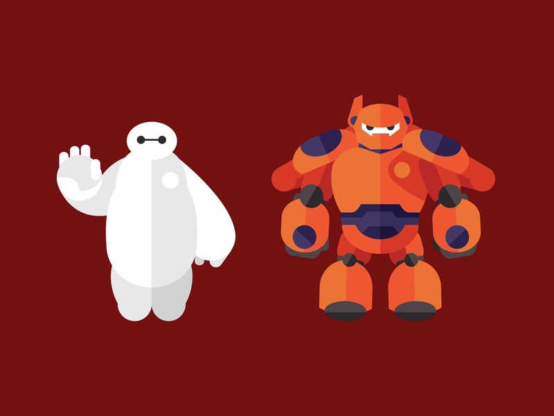 Big Hero 6 - Baymax baymax bighero6 design marvel illustration character artwork
