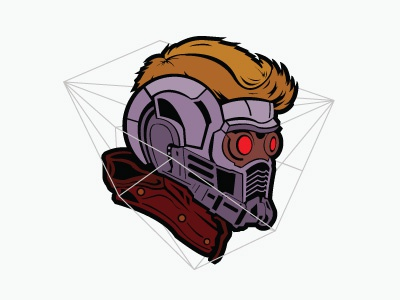 Starlord marvel artwork starlord galaxy character illustration vector