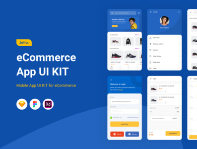 Jello | ecommerce App Ui kit