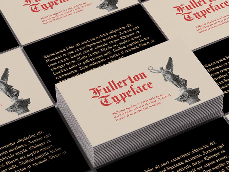 Fullerton typeface font graphic design handdraw hand lettering illustration elegant branding font lettering typography