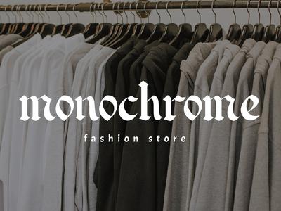 Monochrome // fashion store