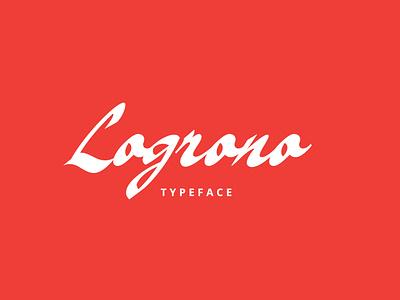 Logrono Typeface illustration graphic design hand lettering elegant font logo branding minimalist lettering typography