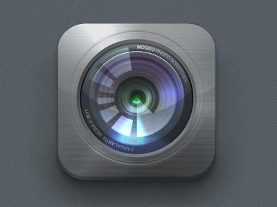 iOS camera icon ios moquu iphone icon camera aperture lens photography eppz