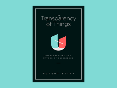 The Transparency of Things: book cover redesign duality nonduality spirituality symbol book cover