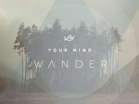 Let Your Mind Wander
