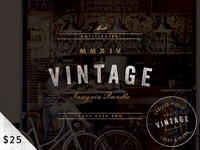 (Save 50%) Vintage Bundle on Creative Market