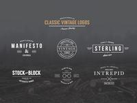 Classic Vintage Logo Kit