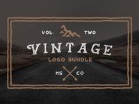 60 % Off Vintage Logo Bundle on Creative Market