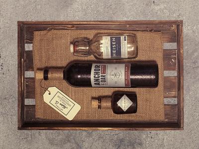 Vintage Print Label Kit