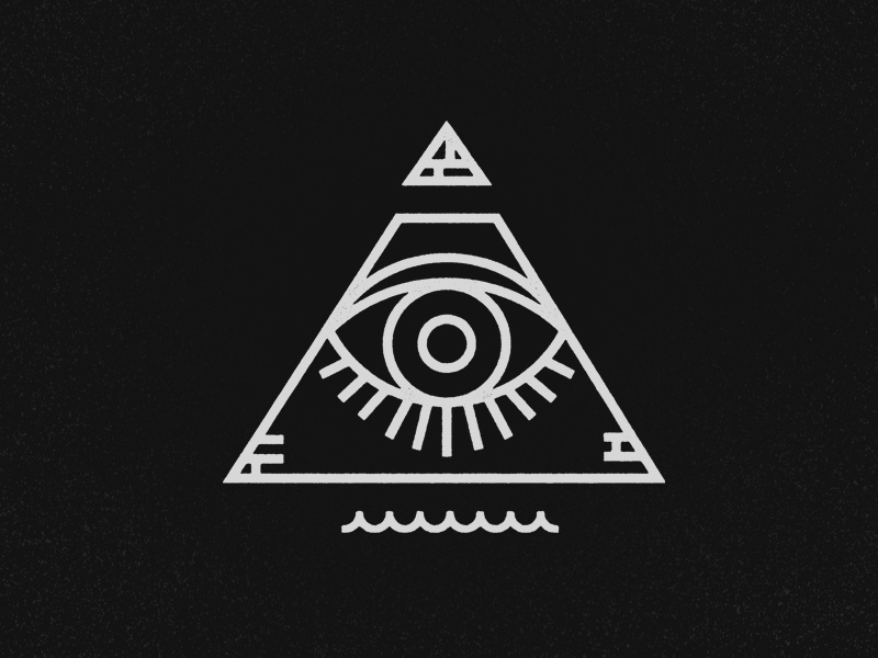 all seeing eye by jeremy vessey dribbble dribbble