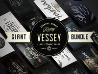 The Giant Bundle   56 Fonts