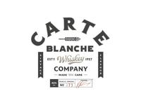 Carte Blanche Whiskey Logo