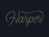 Harper Lettering