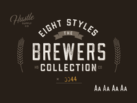 The Brewers Collection - 8 Fonts