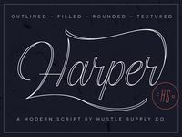 Harper Script by HSCo