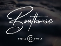 Dribbble Cover Boathouse