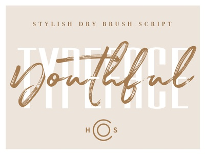 Youthful Duo branding fashion condensed font collection creative market typeface lettering calligraphy brush font font
