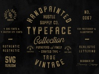 The Hand Painted Typeface Collection