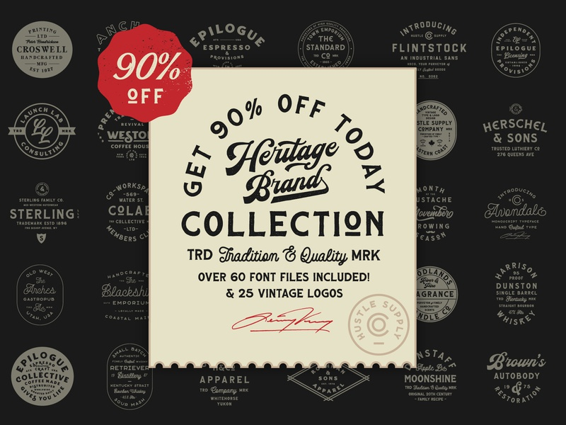 The Heritage Font Collection