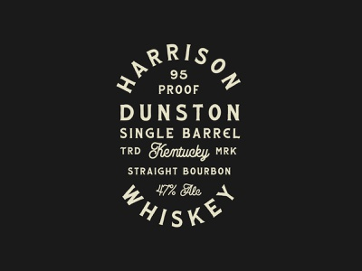 The Heritage Brand Collection brand whiskey branding vintage label retro badge whiskey whiskey logo whiskey label kentucky bourbon straight bourbon vintage logo