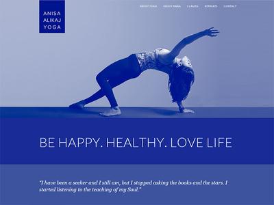 Yoga Teacher Site web site