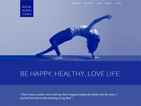 Yoga Teacher Site