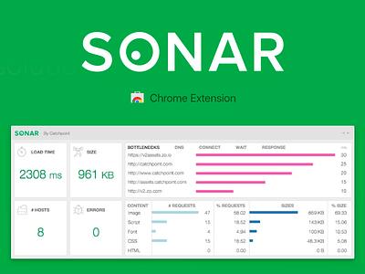 Sonar Chrome Extension catchpoint extension chrome sonar