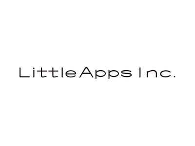 LittleApps Inc. Logo corporate logo typography