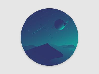 Deserted Planet
