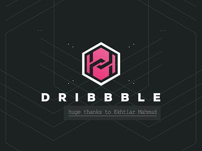 Frist Shot On Dribbble thanks short first invite dribbble