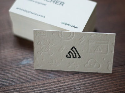 Sentry Letterpress Cards letterpress cards business