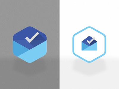 Day 005 - App Icon inbox practice appicon icon ps app dailyui day005 hexicon hexagon