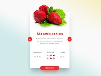 Product Card - Fruit