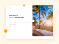 #UI Daily - Miami Header Page