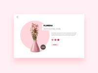 Daily UI - Flower E - Commerce