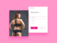 Women Fitness Site -  Weekend UI