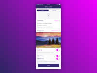 Meditation iOS app redesign proposal