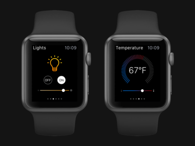 Smart Home Apple Watch Concept