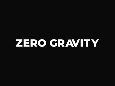 ZERO GRAVITY GLITCH loop ui ukraine design after effects dynamic digital animation 2d gif glitch effect glitch motion lviv red graphics text typography