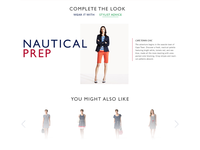 Tommy Hilfiger: Product Detail Page