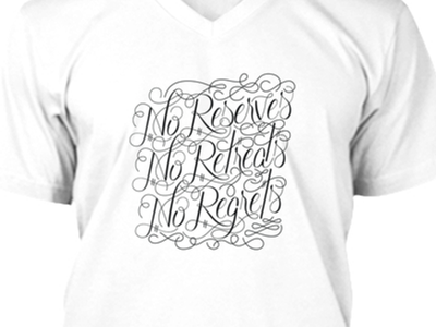 William Borden T-Shirt forsale calligraphy hand lettering quote teespring tshirt