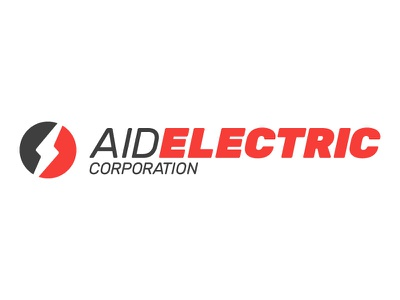 Aid Electric Logo corporation company electric brand color logotype logomark logo