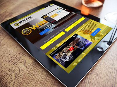 Athletic Standard | iPad layout ( UI / UX design ) ui design ux design ux ui