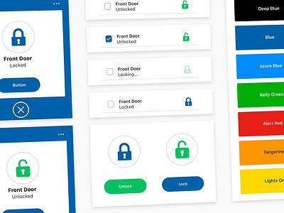Design System Close Up color theory user flow user interface design icon design iconography icon ios app design ios app user experience ux sketch minimal ui design design sketchapp