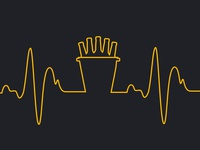 """My heart beats beer"" - Social Media content"